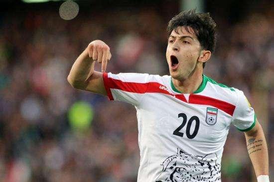 2018伊朗国家队世界杯23人大名单:伊朗梅西领衔 -
