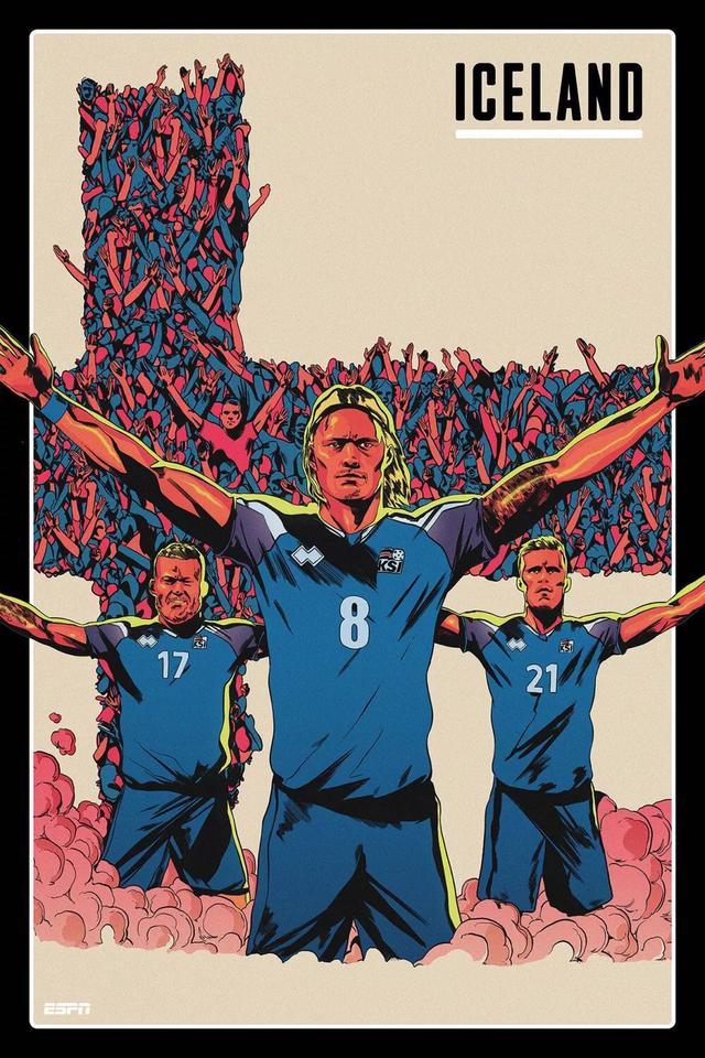 世界杯各国家队海报 看看你最喜欢哪个国家队的?