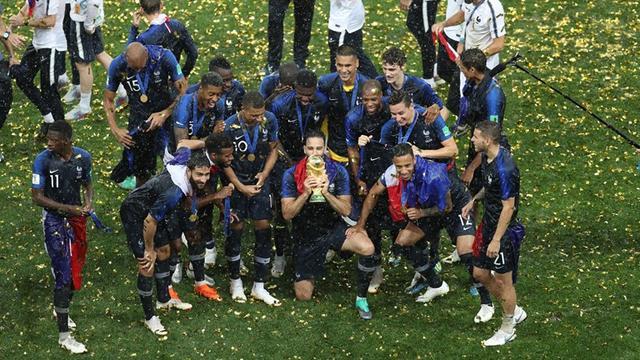 俄罗斯世界杯大结局:法国夺冠 凯恩6球获金靴 莫德里奇得金球奖