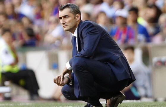 巴爾韋德:對比賽結果滿意 不想讓梅西出場冒險