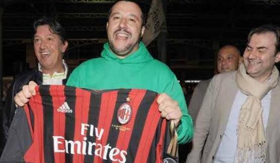 意大利副总理挺米兰:欧足联双标 球队处罚太重