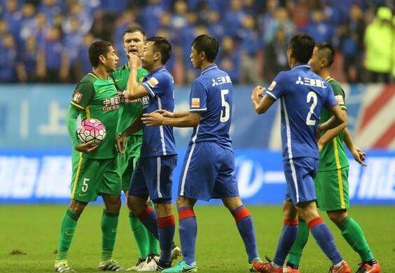 上海申花平国安掉至第4 主场不败失争3先手