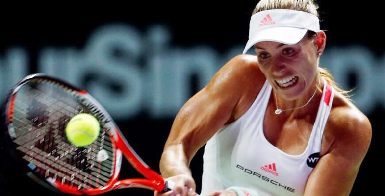 WTA总决赛:科贝尔2-1齐娃