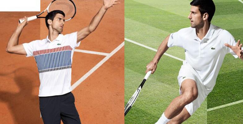 网球明星德约科维奇拍广告写真