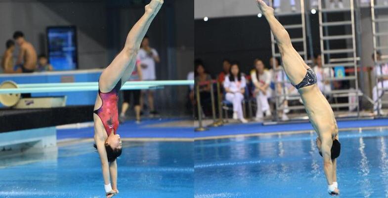 2017年全国跳水冠军赛 运动员全力拼搏