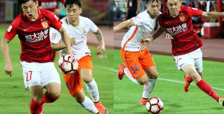 中超联赛:广州恒大2-1击败山东鲁能(组图)
