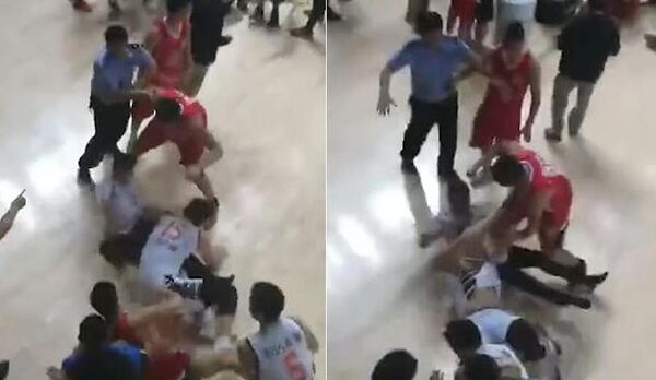 NBL综述:因为河南广西因群殴比赛中断 陕西夺赛点(图)